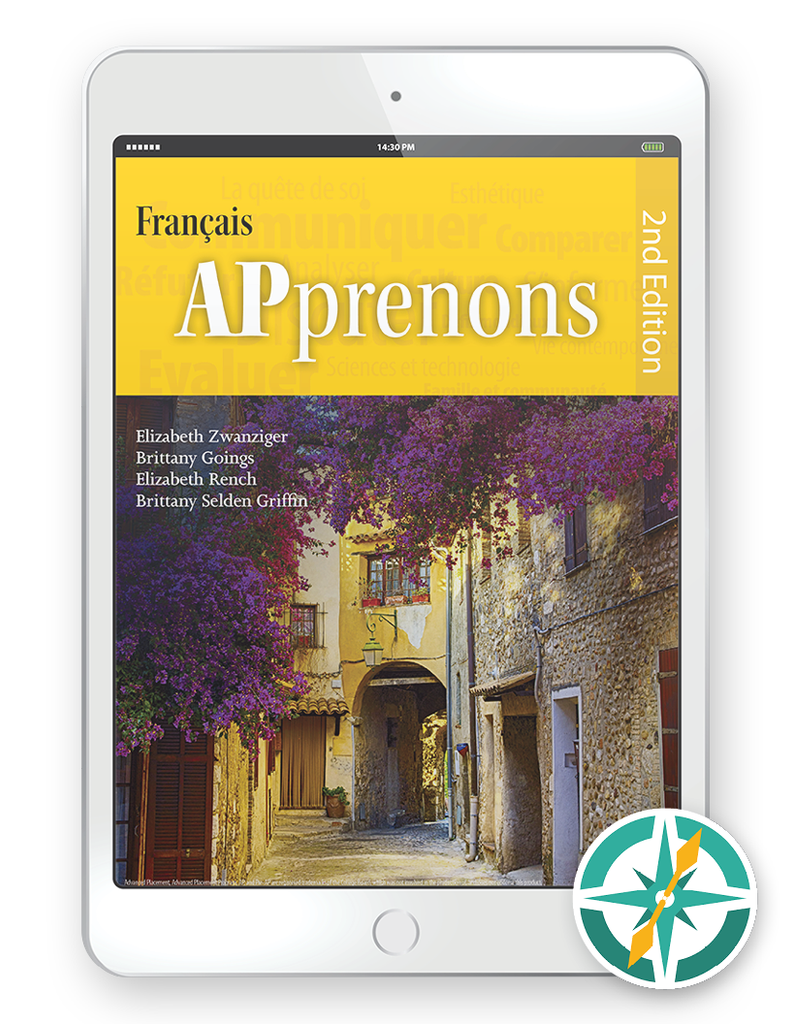 APprenons, 2nd Edition - One-Year Digital Student Package (FlexText® + Explorer)