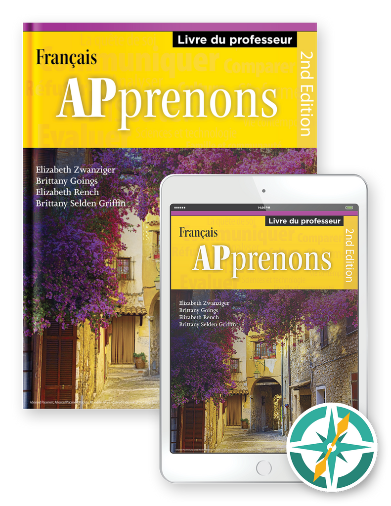 APprenons, 2nd Edition - Multi-Year Softcover Print and Digital Teacher Package