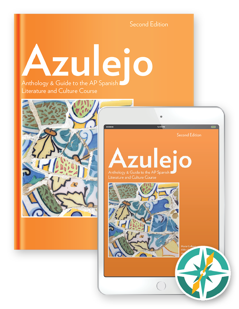 Azulejo, 2nd Edition - One-Year Hardcover Print and Digital Student Package