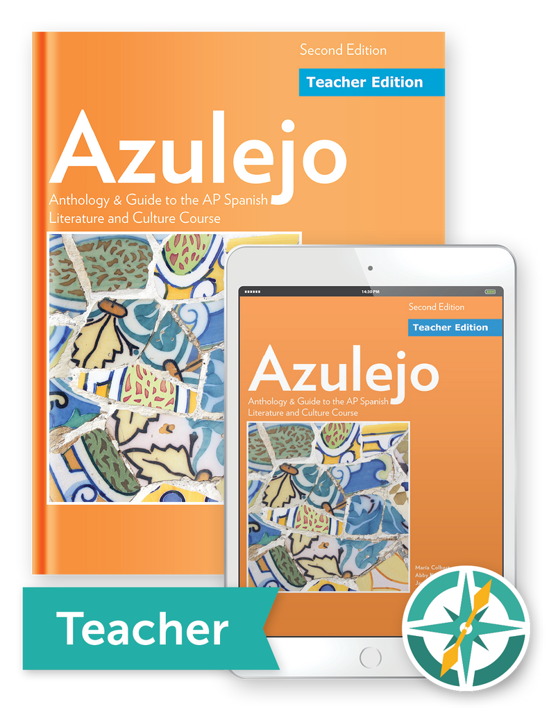 Azulejo, 2nd Edition - One-Year Softcover Print and Digital Teacher Package