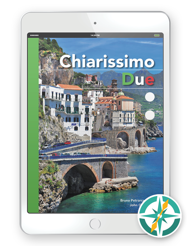 Chiarissimo Due - One-Year Digital Student Package (FlexText® + Explorer)
