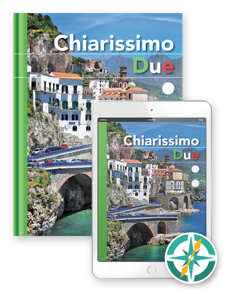 Chiarissimo Due - One-Year Softcover Print and Digital Student Package