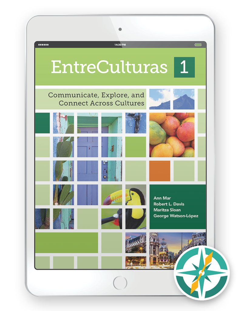 EntreCulturas 1, Español - One-Year Digital Student Package (FlexText® + Explorer)
