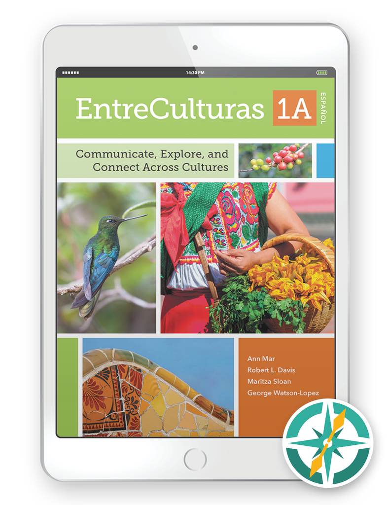 EntreCulturas 1a, Español - One-Year Digital Student Package (FlexText® + Explorer)