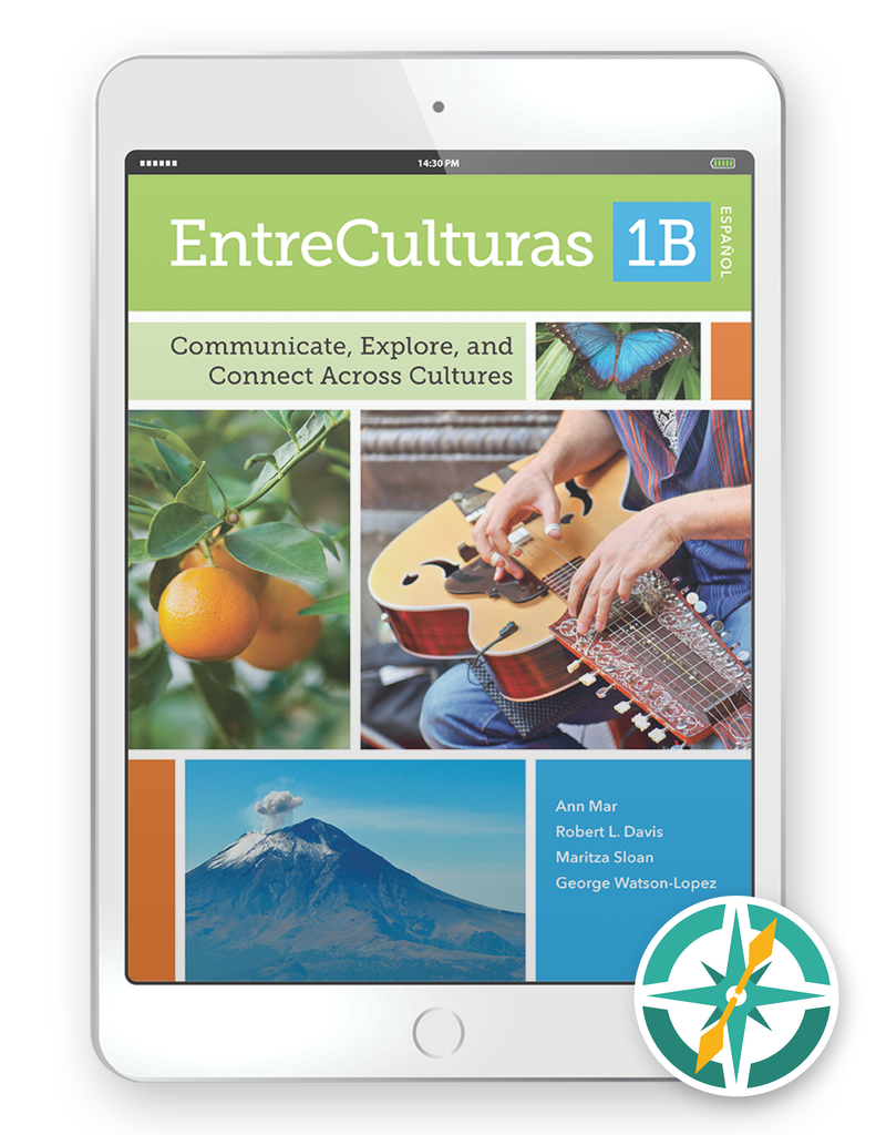 EntreCulturas 1b, Español - One-Year Digital Student Package (FlexText® + Explorer)