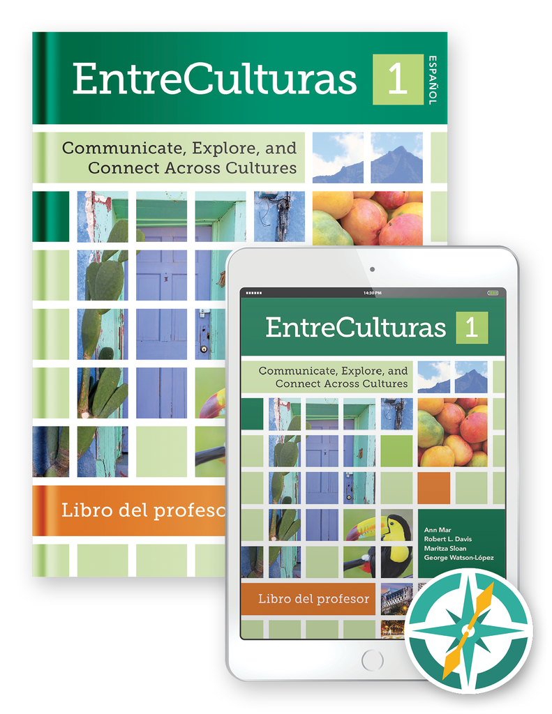 EntreCulturas 1 - Multi-Year Softcover Print and Digital Teacher Package