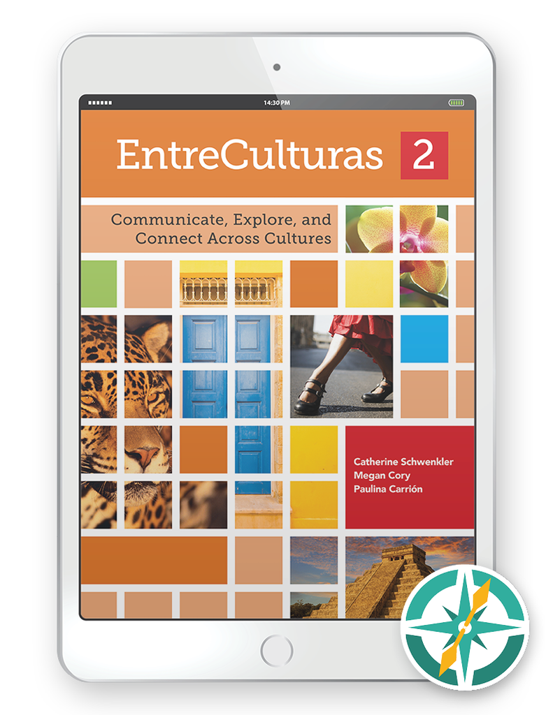 EntreCulturas 2, Español - One-Year Digital Student Package (FlexText® + Explorer)