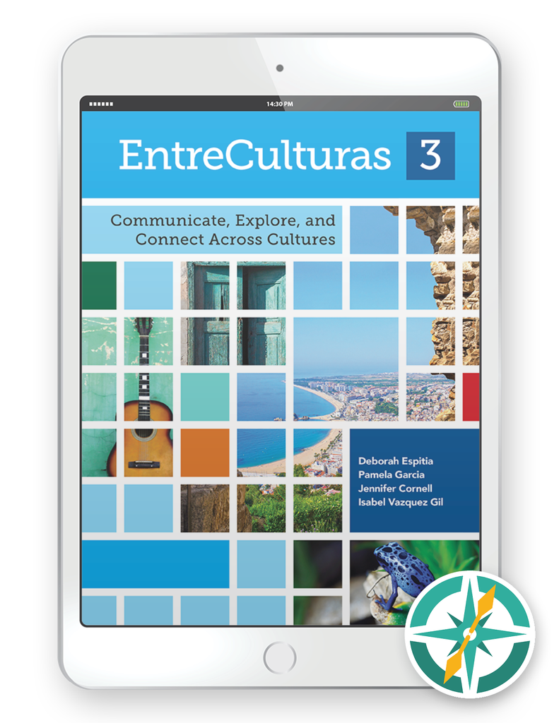 EntreCulturas 3, Español - One-Year Digital Student Package (FlexText® + Explorer)