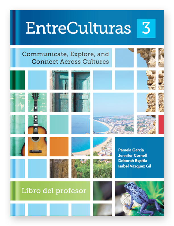 Teacher Edition Softcover - EntreCulturas Level 3