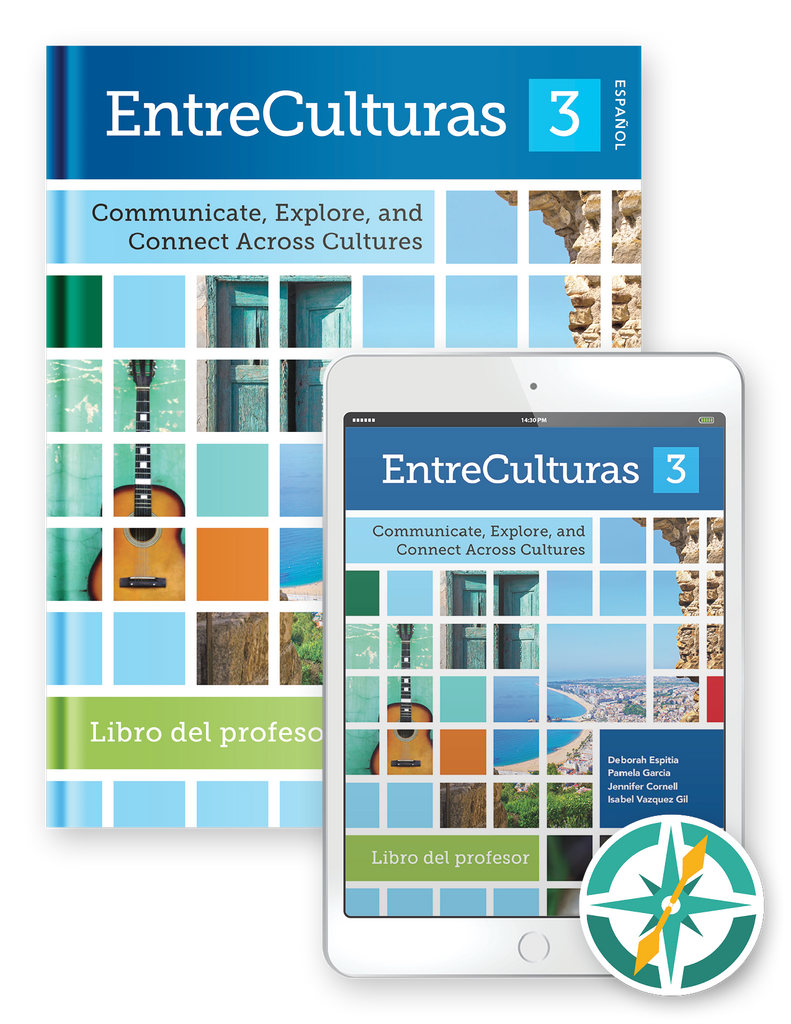 EntreCulturas 3 - Multi-Year Softcover Print and Digital Teacher Package