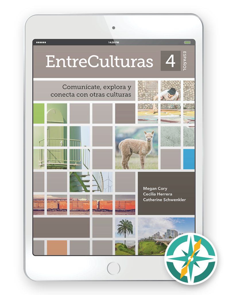 EntreCulturas 4, Español - One-Year Digital Student Package (FlexText® + Explorer)