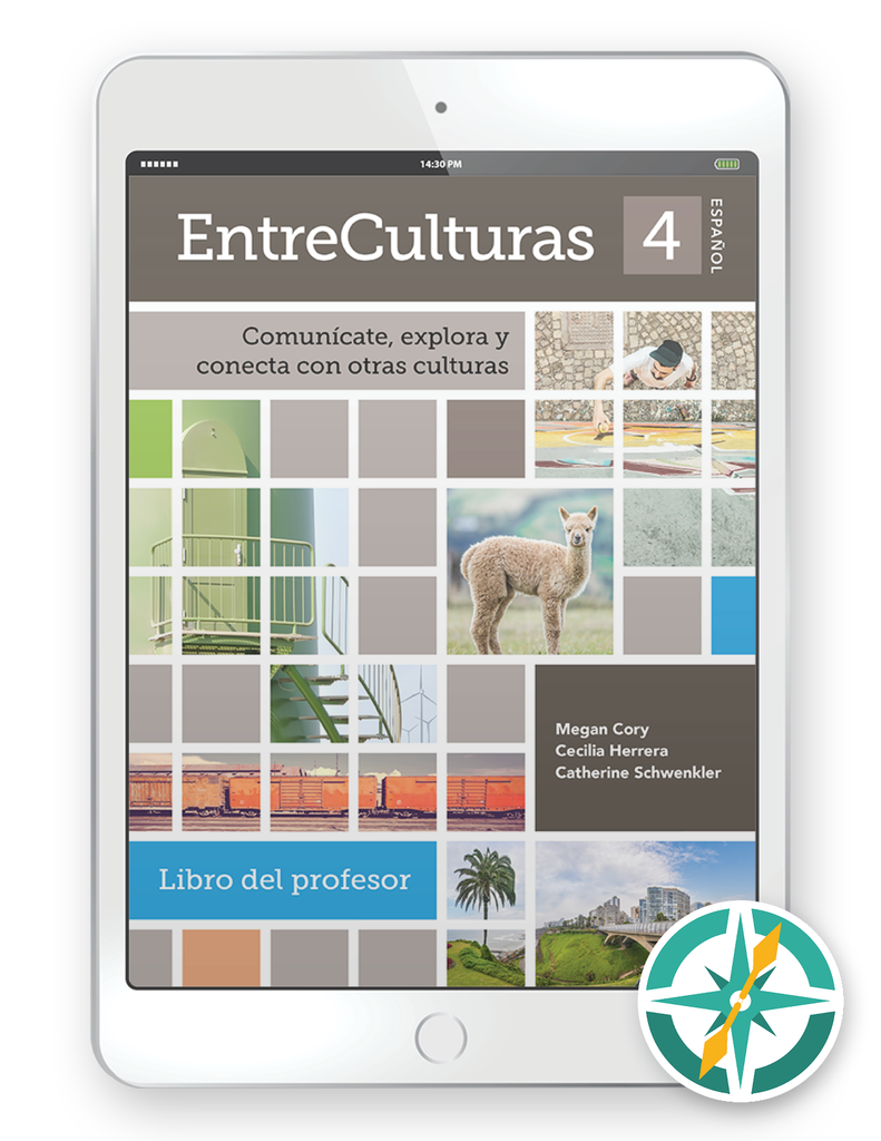 EntreCulturas 4 Español - Multi-Year Digital Teacher Package (Teacher FlexText® + Student FlexText® + Explorer)