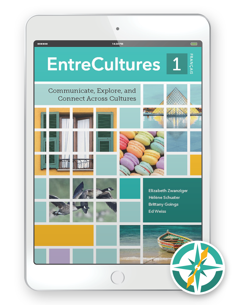 EntreCultures 1, Français  - One-Year Digital Student Package (FlexText® + Explorer)