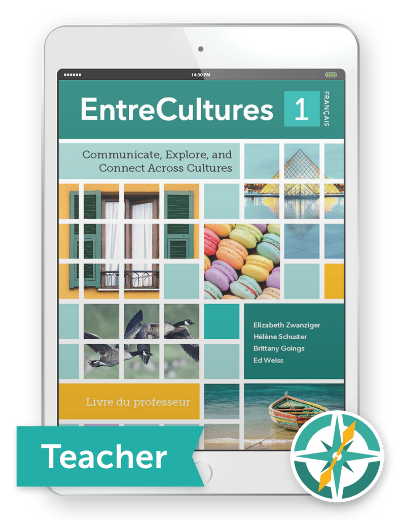 EntreCultures 1, Français  - One-Year Digital Teacher Package (Teacher FlexText® + Student FlexText® + Explorer)