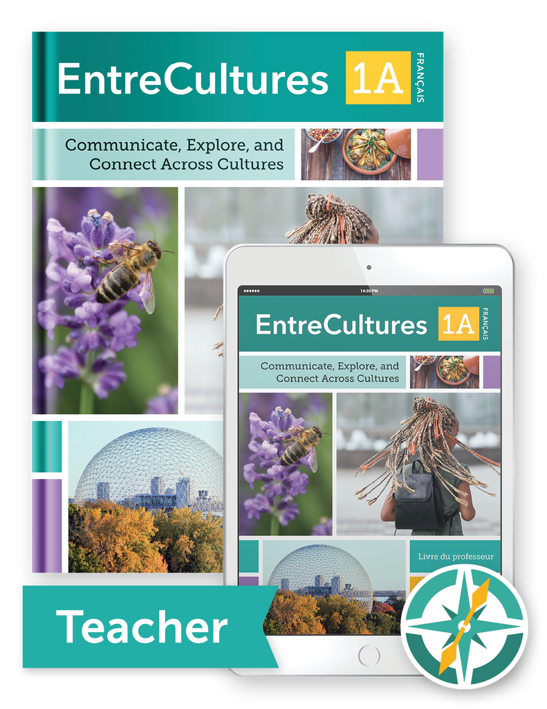 EntreCultures 1a, Français  - One-Year Softcover Print and Digital Teacher Package