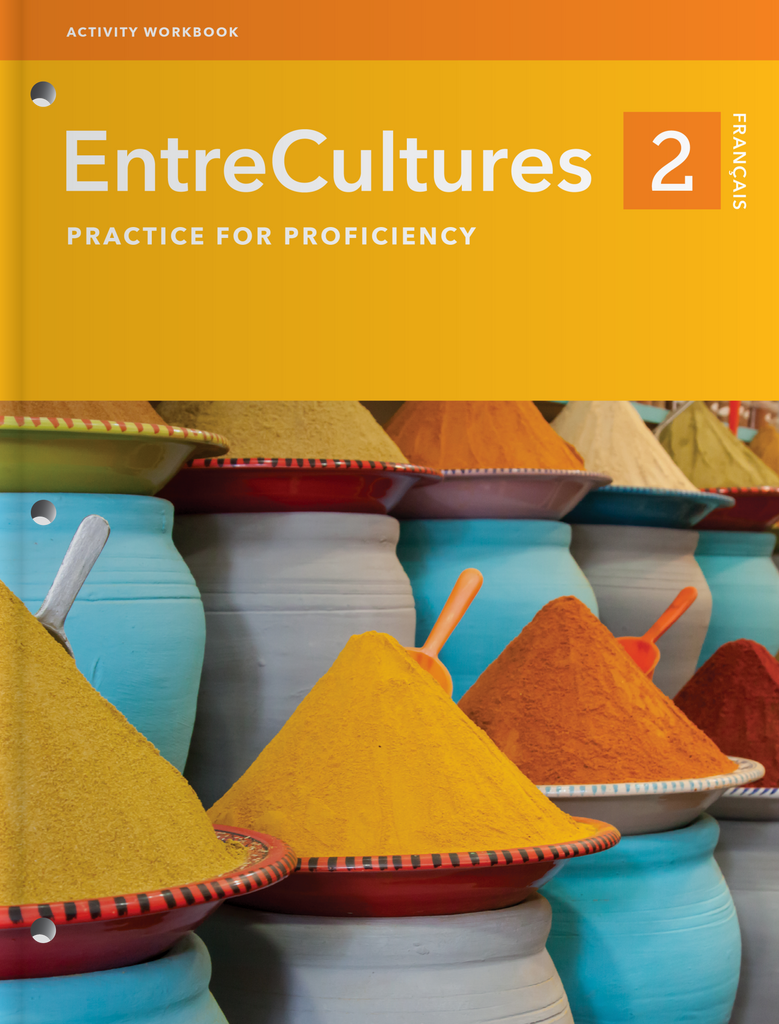 EntreCultures 2, Français – Activity Workbook