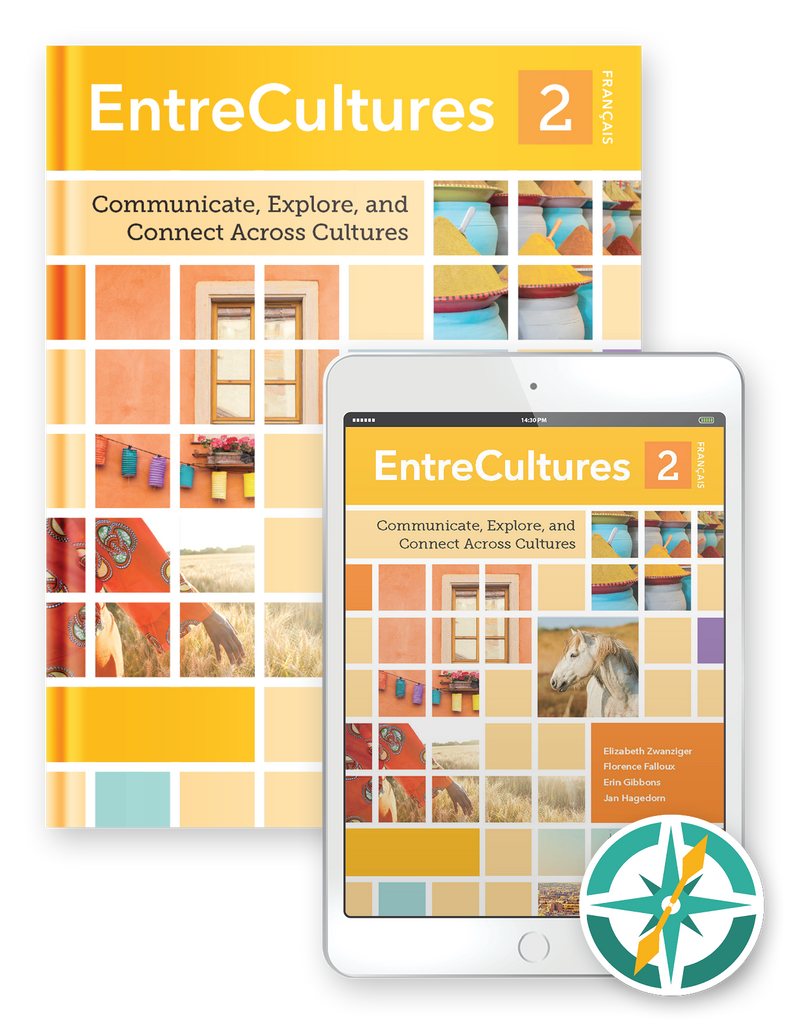 EntreCultures 2, Français  - Multi-Year Hardcover Print and Digital Student Package
