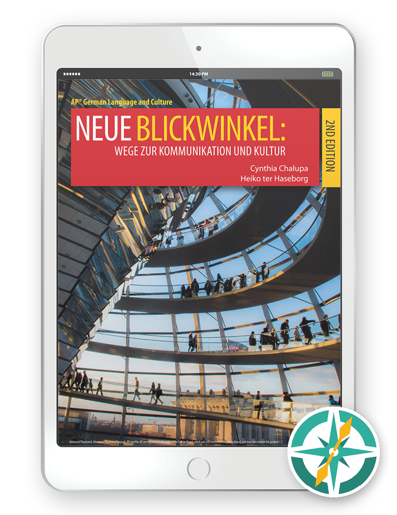 Neue Blickwinkel, 2nd Edition - Multi-Year Digital Student Package (FlexText® + Explorer)