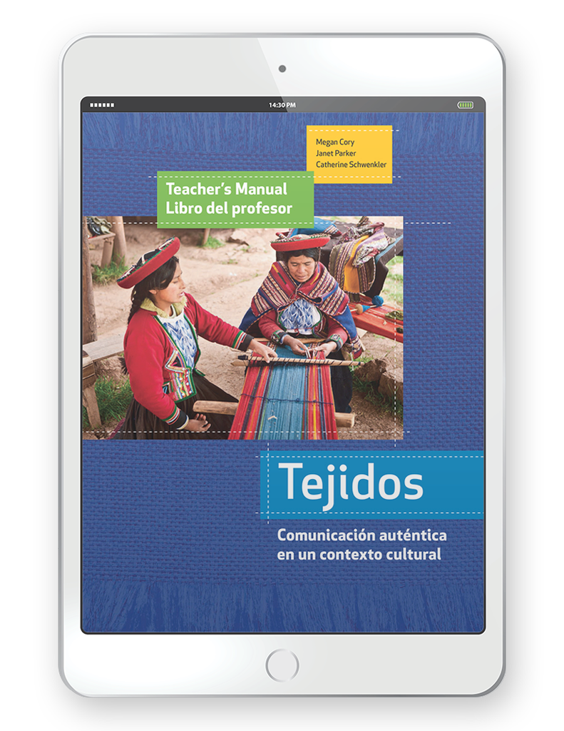 Tejidos - Multi-Year Digital Teacher  Package (Teacher FlexText® + Student FlexText® + Explorer)