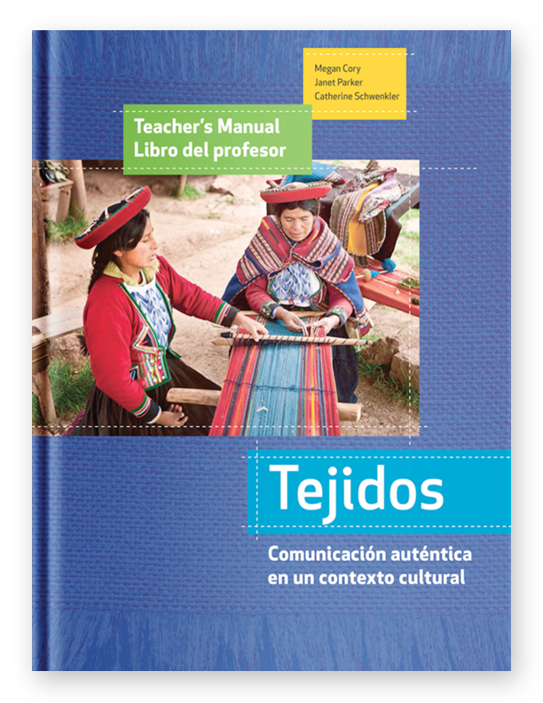 Teacher Edition Softcover - Tejidos