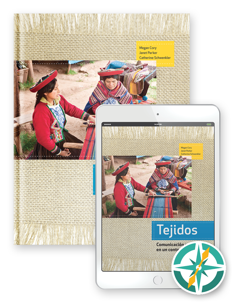 Tejidos - One-Year Hardcover Print and Digital Student Package