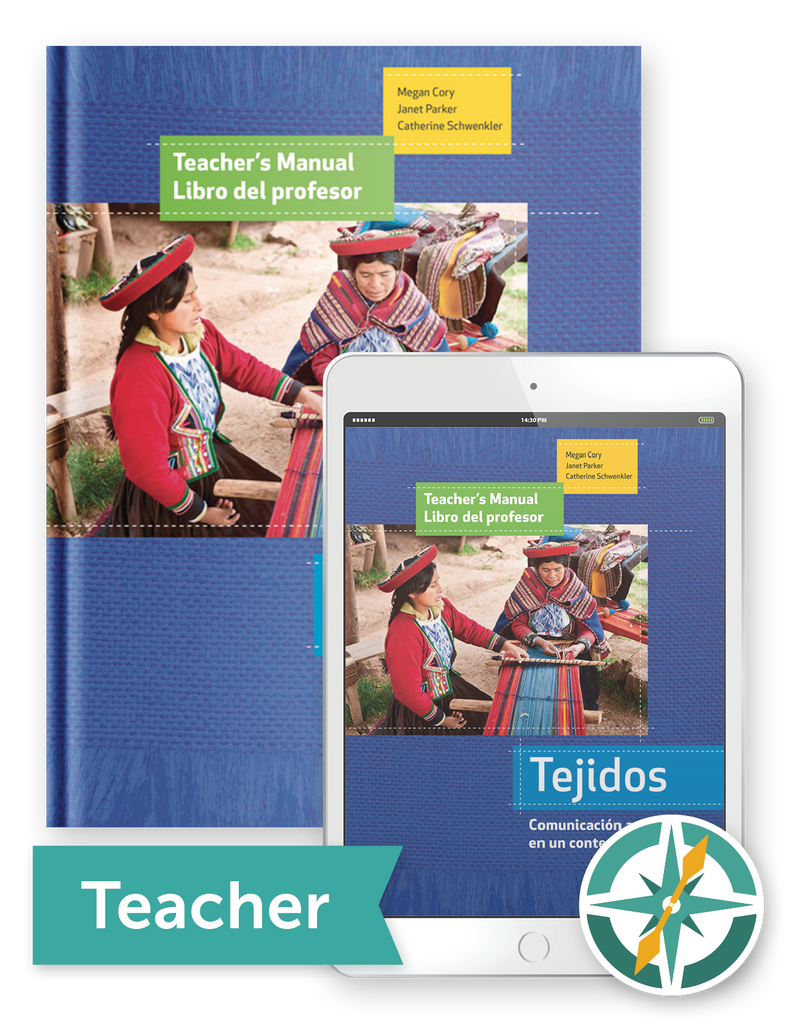 Tejidos - One-Year Softcover Print and Digital Teacher Package