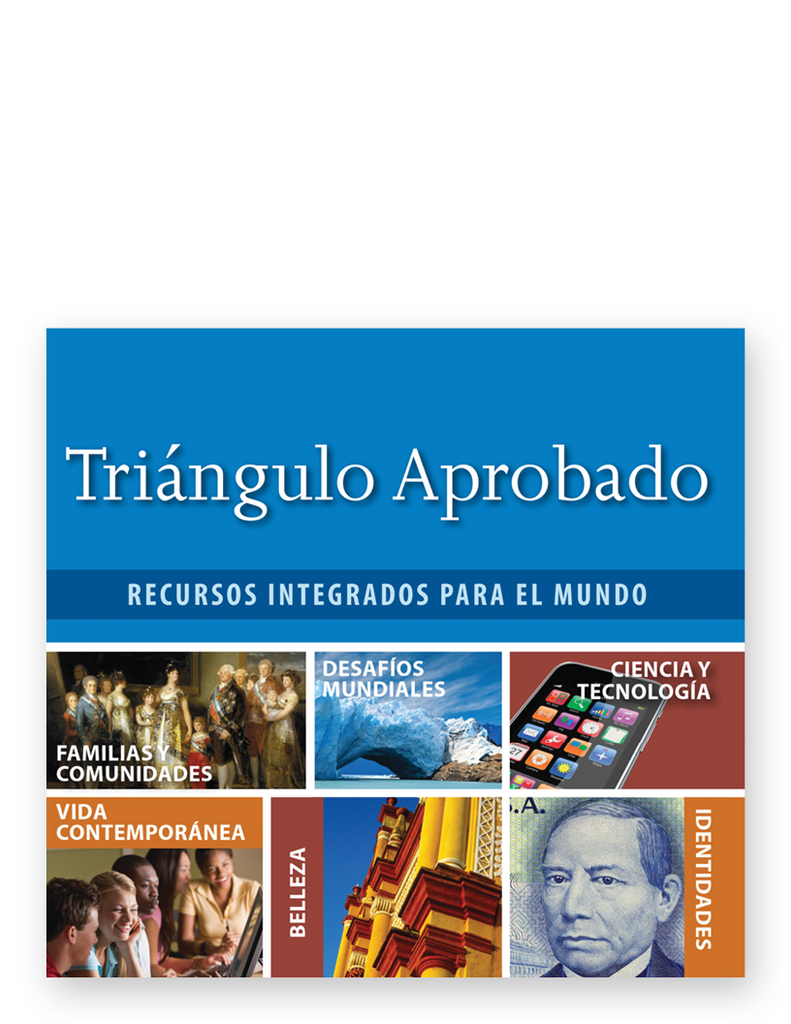Triángulo Aprobado, 5th Edition - Audio Program on DVD