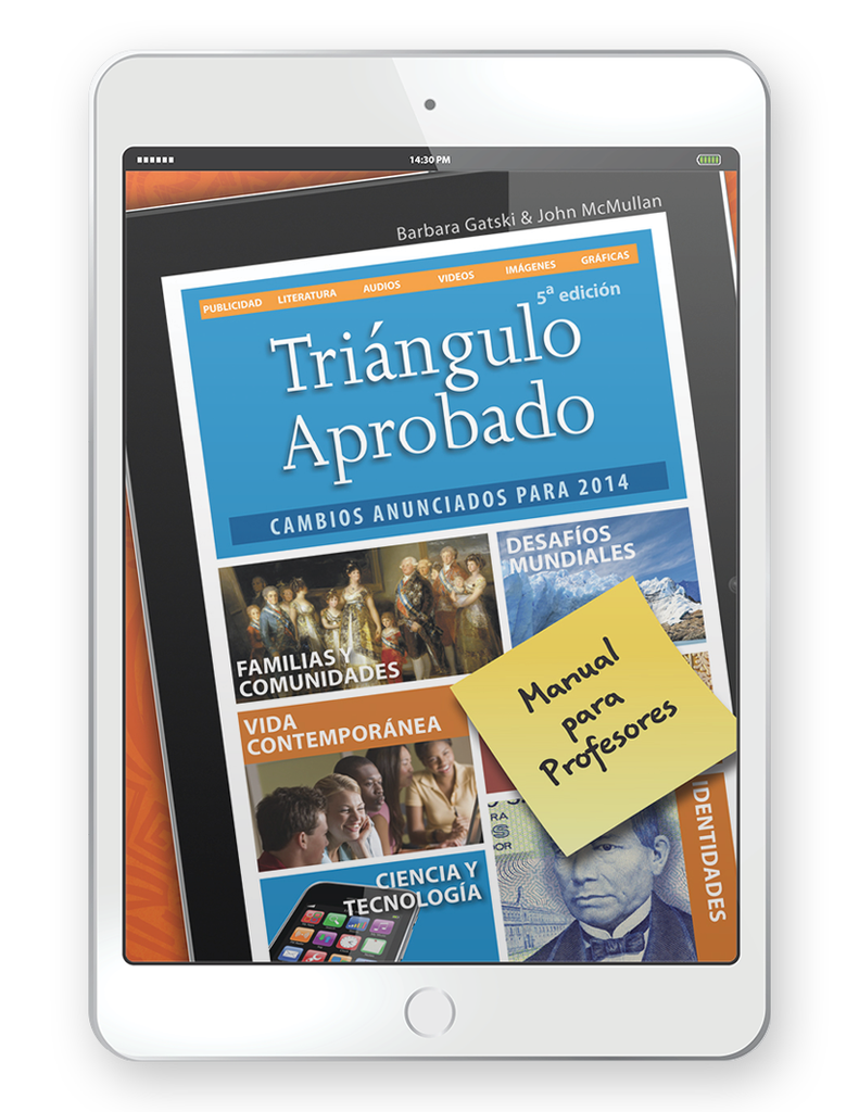 Triángulo Aprobado, 5th Edition - Multi-Year Digital Teacher Package (Teacher FlexText® + Student FlexText® + Explorer)