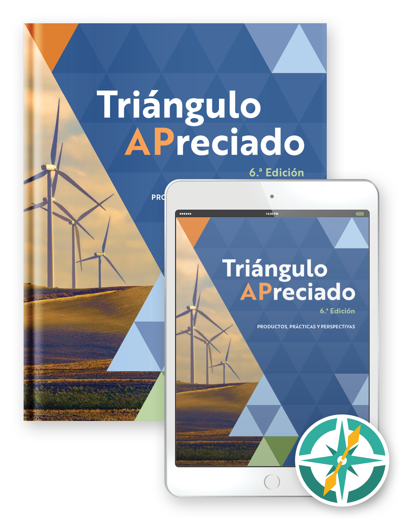 Triángulo APreciado, 6ª edición - One-Year Hardcover Print and Digital Student Package