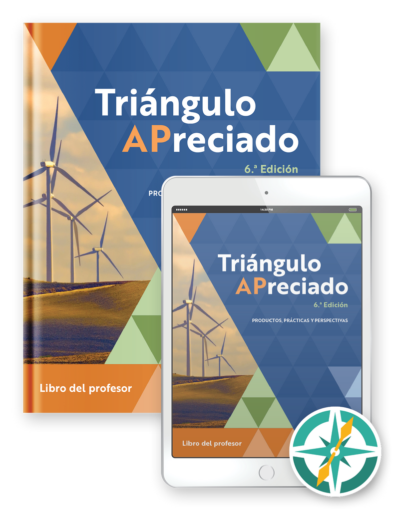 Preorder Triángulo APreciado, 6ª edición - Multi-year Softcover Print and Digital Teacher Package