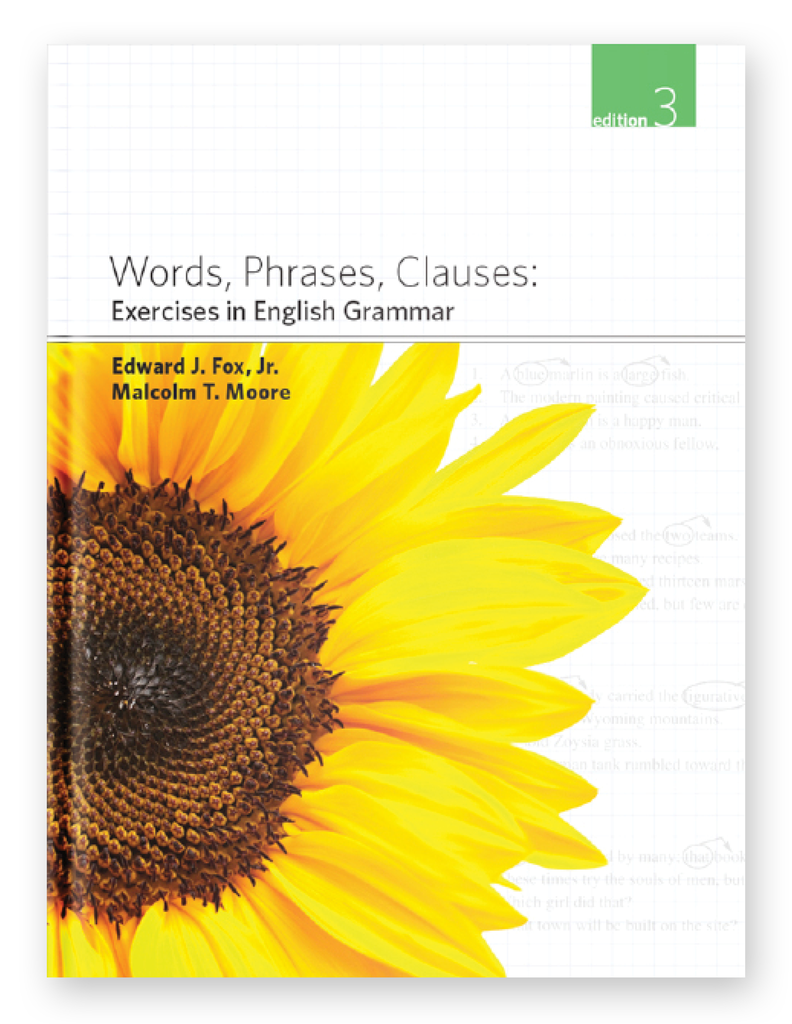 Softcover - Words, Phrases, Clauses
