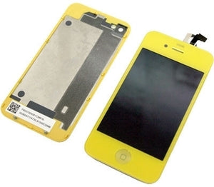 iPhone 4 CDMA Full Conversion Kit - Yellow - Wholesale Smartphone Parts - lcdcycle.com