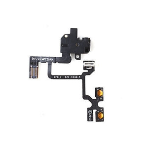 iPhone 4S Headphone Audio Jack Ribbon Flex Cable - Black - Wholesale Smartphone Parts - lcdcycle.com