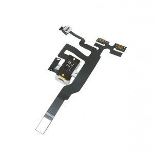 iPhone 4S Headphone Audio Jack Ribbon Flex Cable - White - Wholesale Smartphone Parts - lcdcycle.com