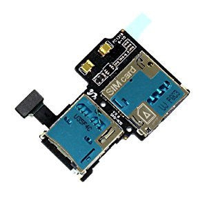 Sim Tray SD Card Reader For Samsung Galaxy S4 (i545) Verizon - Wholesale Smartphone Parts - lcdcycle.com