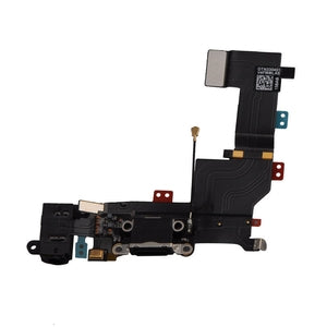 iPhone 5S Charging Port Flex - Black - Wholesale Smartphone Parts - lcdcycle.com