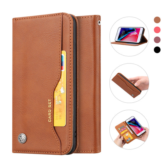 iPhone 7/8 Plus (5.5) Leather Card Case