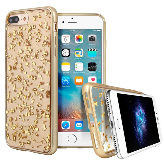 Prodigee Scene Treasure Case For Apple iPhone 7 Plus - Gold - Retail Packaged