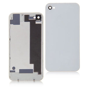 iPhone 4 CDMA Back Glass White - NO APPLE LOGO OR WRITING - Wholesale Smartphone Parts - lcdcycle.com