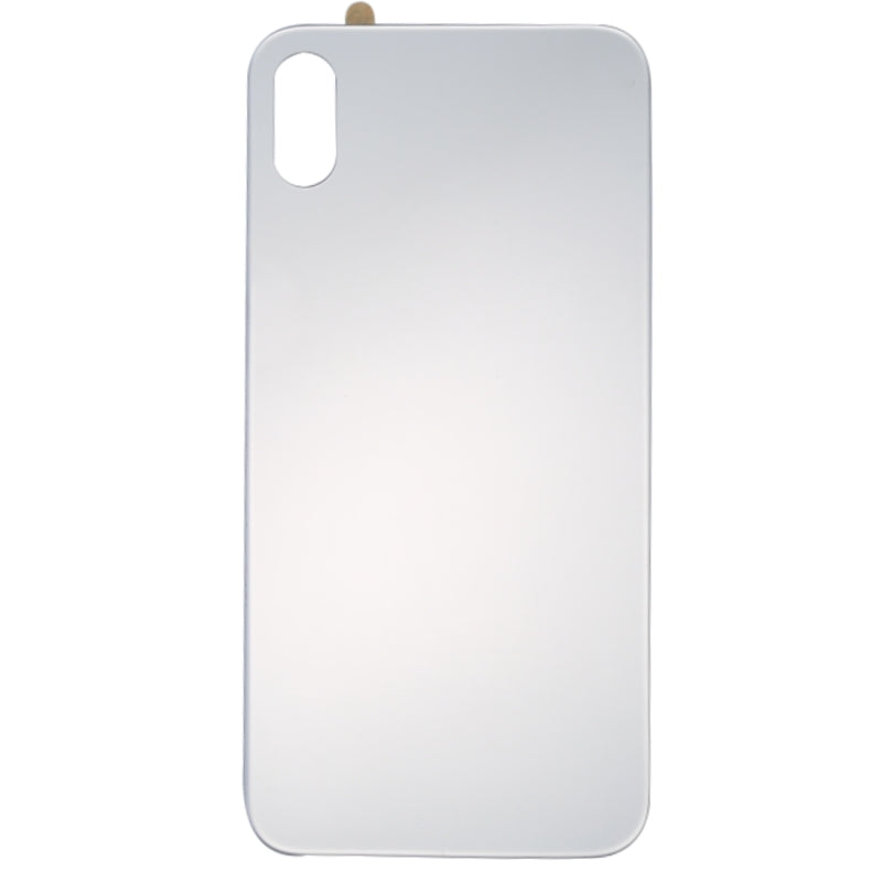 iPhone X Back Cover Glass - Silver