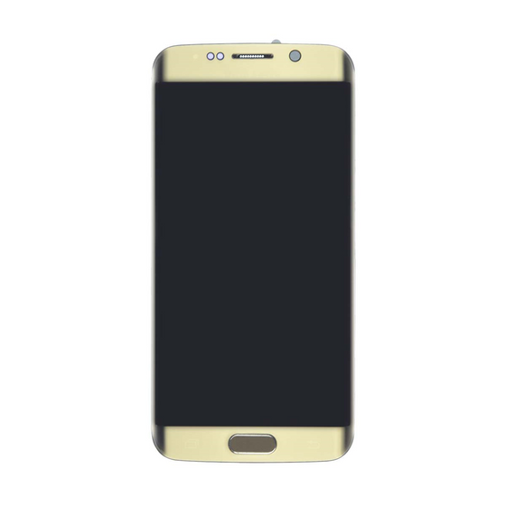 Samsung S6 Edge LCD Assembly Gold