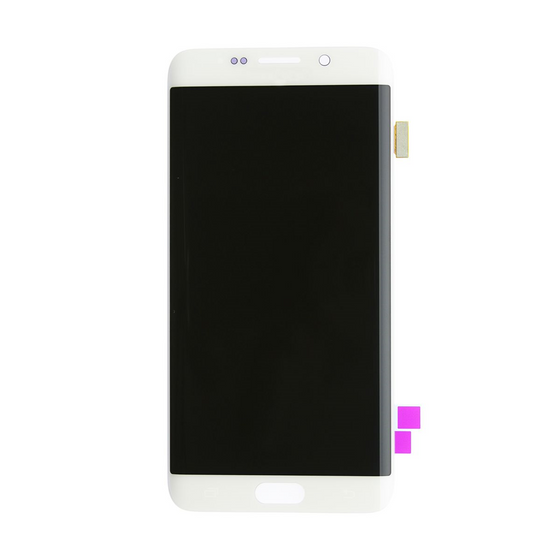 Samsung S6 Edge LCD Assembly White