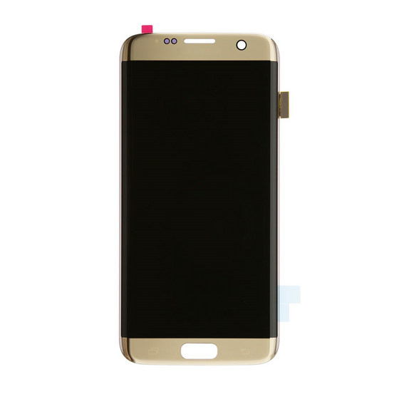 Samsung S7 Edge LCD Assembly Gold