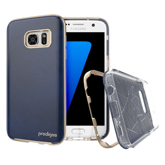 Prodigee Trim Case For Samsung Galaxy S7 – Royal Blue - Retail Packaged - Wholesale Smartphone Parts - lcdcycle.com