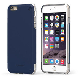 PureGear DualTek Pro Extreme Shock Case for Apple iPhone 7 - Blue / Clear - Retail Packaged - Wholesale Smartphone Parts - lcdcycle.com