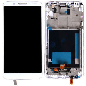 LG G2 White VS980 with Frame - Wholesale Smartphone Parts - lcdcycle.com