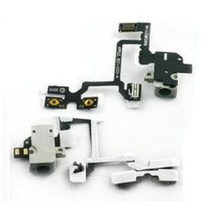 iPhone 4 GSM Headphone Audio Jack Ribbon Flex Cable - White - Wholesale Smartphone Parts - lcdcycle.com