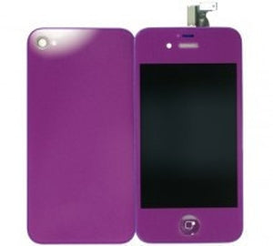 iPhone 4 CDMA Full Conversion Kit - Purple - Wholesale Smartphone Parts - lcdcycle.com