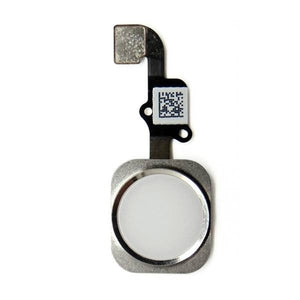iPhone 6 Home Button Flex Silver - Wholesale Smartphone Parts - lcdcycle.com