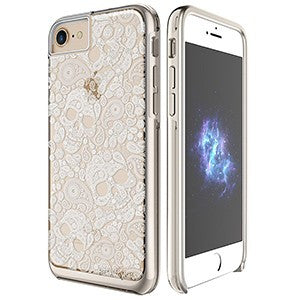 Prodigee Show Case For Apple iPhone 6 Plus / 6S Plus / 7 Plus - Calavera - Retail Packaged